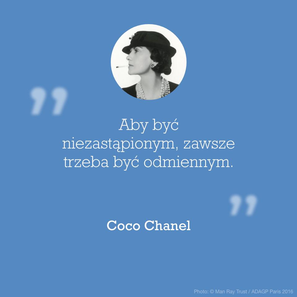Cytat Coco Chanel